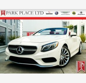2017 Mercedes-Benz S550 Cabriolet for sale 101137252