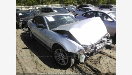 2013 Ford Mustang Convertible for sale 101138473