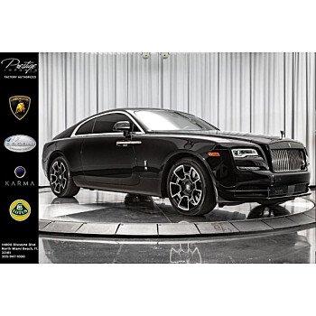2017 Rolls-Royce Wraith for sale 101139250