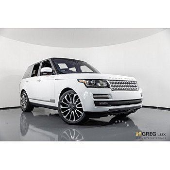 2017 Land Rover Range Rover for sale 101139935
