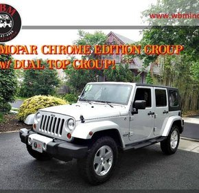 2009 Jeep Wrangler 4WD Unlimited Sahara for sale 101139998