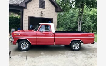 1967 Ford F100 2WD Regular Cab for sale 101140009