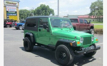 2004 Jeep Wrangler 4WD for sale 101140205