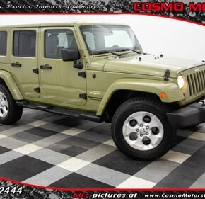 2013 Jeep Wrangler 4WD Unlimited Sahara for sale 101140490