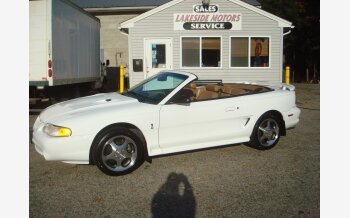 1997 Ford Mustang Cobra Convertible for sale 101140512