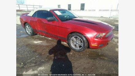 2010 Ford Mustang Convertible for sale 101140769