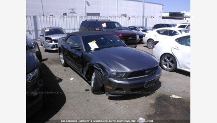 2010 Ford Mustang Convertible for sale 101140834