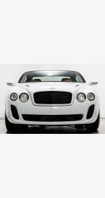2010 Bentley Continental Supersports Coupe for sale 101141158