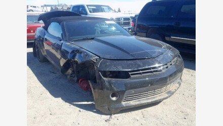 2015 Chevrolet Camaro LT Convertible for sale 101141303