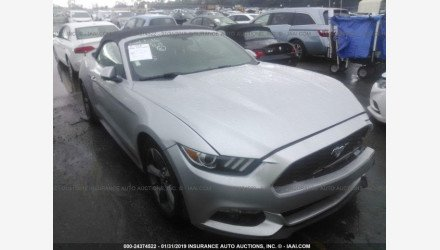 2016 Ford Mustang Convertible for sale 101141376