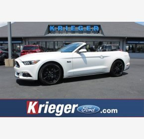 2017 Ford Mustang GT Convertible for sale 101141576