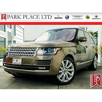 2014 Land Rover Range Rover Supercharged for sale 101141611