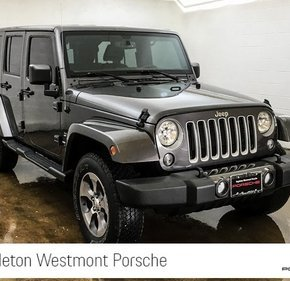 2016 Jeep Wrangler 4WD Unlimited Sahara for sale 101141647