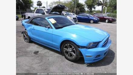2014 Ford Mustang Convertible for sale 101142010