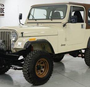 1982 Jeep CJ 7 for sale 101143980