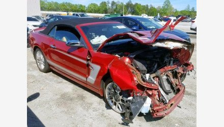 2013 Ford Mustang GT Convertible for sale 101144283