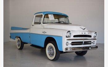 1957 Dodge D/W Truck 2WD Regular Cab D-100 for sale 101144791