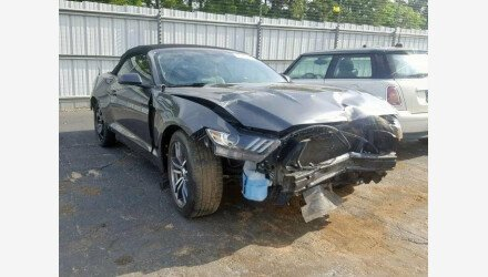 2017 Ford Mustang Convertible for sale 101144845
