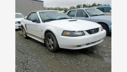 2002 Ford Mustang Convertible for sale 101144876