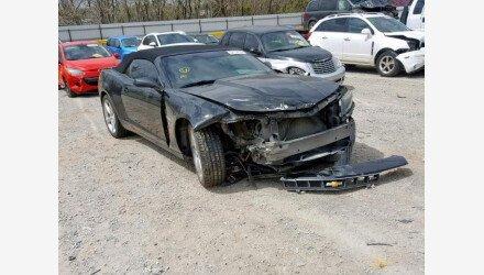 2014 Chevrolet Camaro LT Convertible for sale 101144944