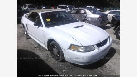 2000 Ford Mustang Convertible for sale 101144999