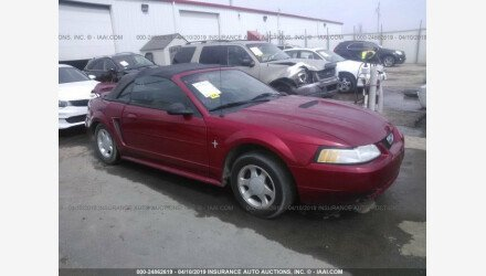 2000 Ford Mustang Convertible for sale 101145012