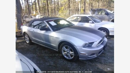 2013 Ford Mustang Convertible for sale 101145034