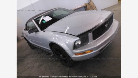 2007 Ford Mustang Convertible for sale 101145053