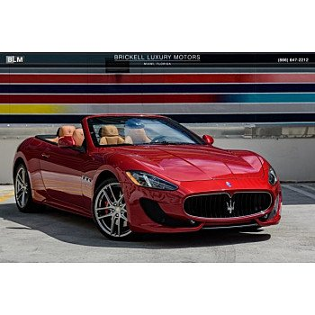2015 Maserati GranTurismo Convertible for sale 101145282