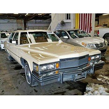 1979 Cadillac De Ville for sale 101145839
