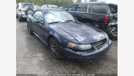 2002 Ford Mustang Convertible for sale 101145879