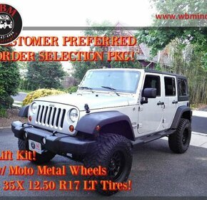2012 Jeep Wrangler 4WD Unlimited Sport for sale 101146359