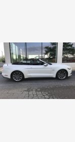 2017 Ford Mustang GT Convertible for sale 101146483