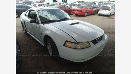 2000 Ford Mustang Coupe for sale 101146605