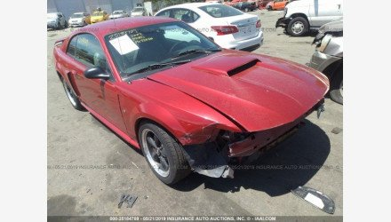 2002 Ford Mustang GT Coupe for sale 101146627