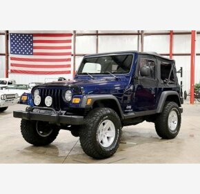 2005 Jeep Wrangler 4WD SE for sale 101146818