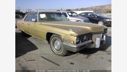 1971 Cadillac De Ville for sale 101147357