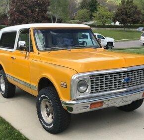 1972 Chevrolet Blazer 4WD 2-Door for sale 101147694