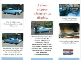 1957 Ford Thunderbird 50th Anniversary for sale 101147819