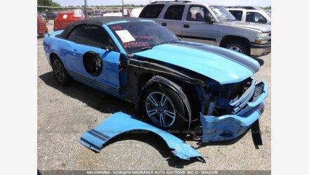 2012 Ford Mustang Convertible for sale 101149992