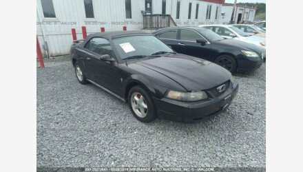 2003 Ford Mustang Convertible for sale 101150041