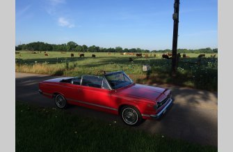 1967 AMC Rambler American Rouge Convertible for sale 101150834