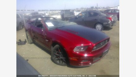 2013 Ford Mustang GT Convertible for sale 101150967