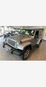 2018 Jeep Wrangler JK 4WD Sahara for sale 101152485
