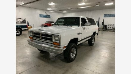 1989 Dodge Ramcharger 4WD for sale 101152906