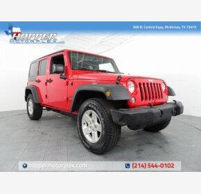 2015 Jeep Wrangler 4WD Unlimited Sport for sale 101153328