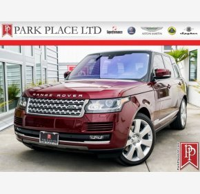 2017 Land Rover Range Rover for sale 101153400