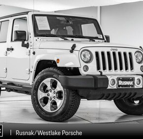 2017 Jeep Wrangler 4WD Unlimited Sahara for sale 101154475