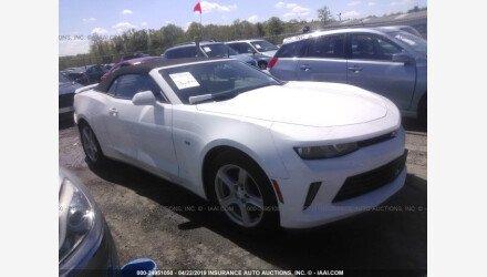 2017 Chevrolet Camaro LT Convertible for sale 101154657
