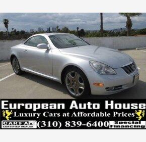 2007 Lexus SC 430 Convertible for sale 101154748